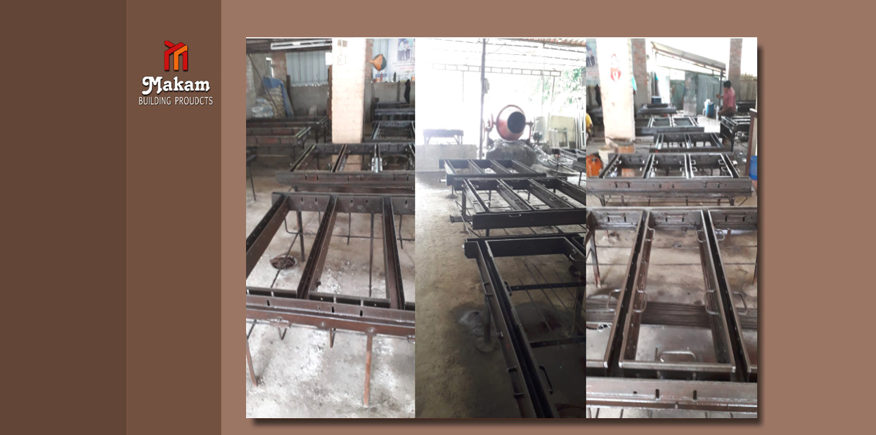 IRON MOULDS FOR CONCRETE WINDOW FRAME, DOOR FRAME, CONCRETE RINGS, SEPTIC TANKS